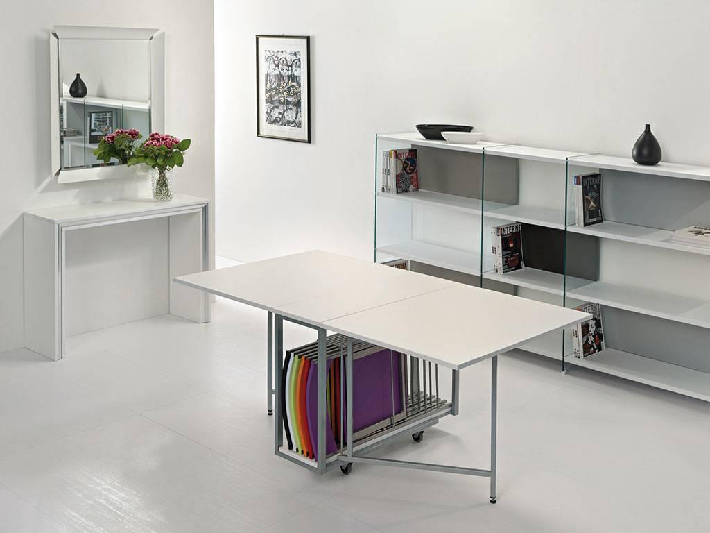 Tavolo consolle archimede con 6 sedie ebay for Tavolo allungabile con sedie a scomparsa