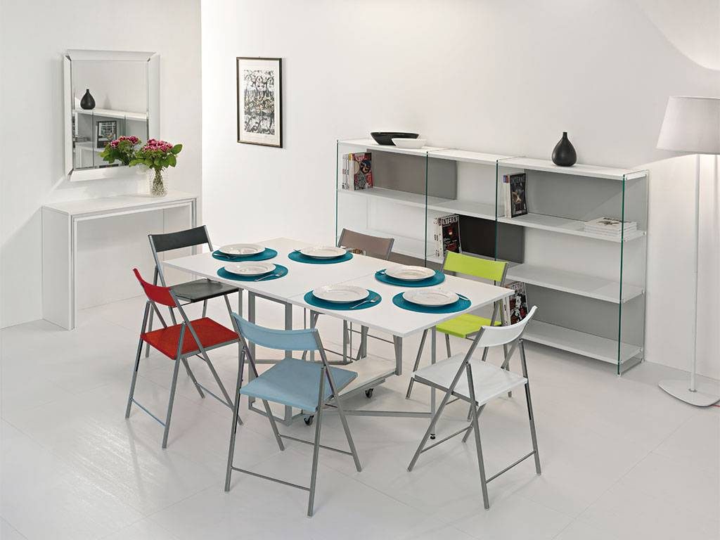 Consolle allungabile ikea offerte e risparmia su ondausu - Ikea tavolo consolle allungabile ...