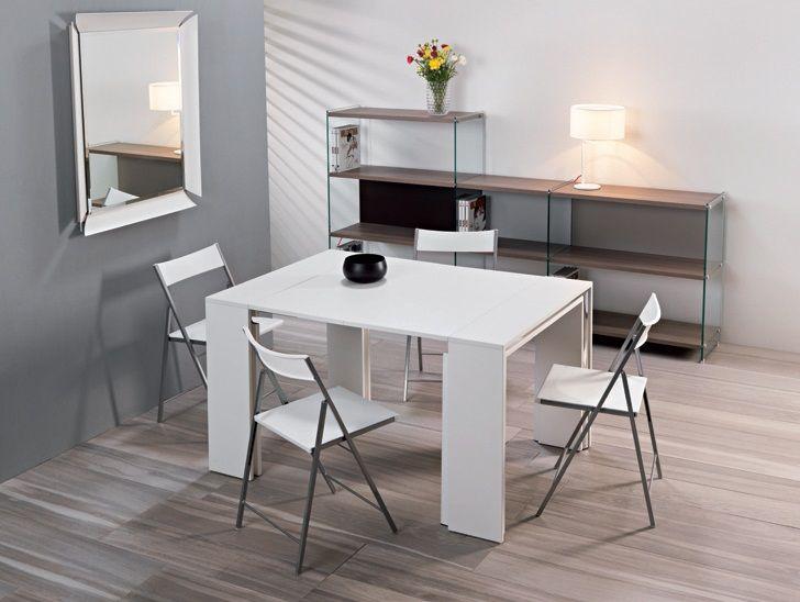Tavolo consolle leonardo allungabile sala soggiorno studio for Tavolo sala allungabile